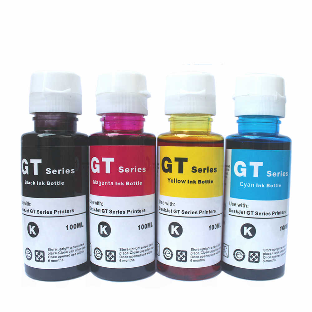 Detail Feedback Questions about Refill Ink for HP gt5810