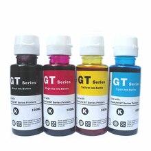 Refill Ink for HP gt5810 gt5820 Printer ink kit gt51 gt52 100ml*4 color