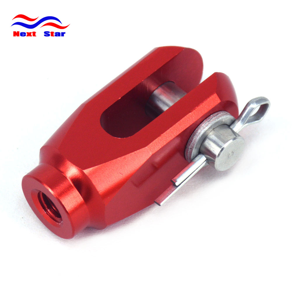 Motorcross Enduro Rear brake Clevis rod joint For HONDA CR CR125 CR250 CRF150R CRF250R CRF250X CRF450R CRF450X <font><b>CRF</b></font> <font><b>450X</b></font> image