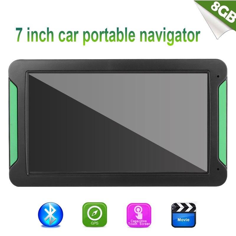 Vehemo ГБ 8 Гб gps навигатор навигации автомобиля цифровой фотографии для FM передачи Автомобильный Универсальный Электроника