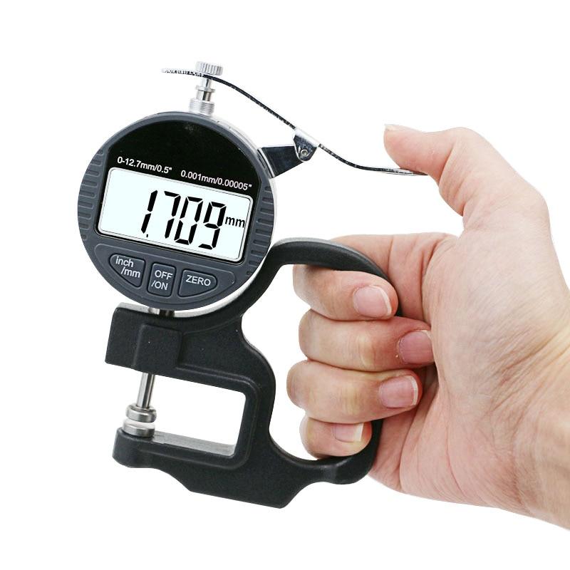0,001 mm elektroninis storio matuoklis 10 mm skaitmeninis mikrometro - Matavimo prietaisai - Nuotrauka 5