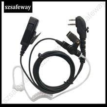 10pcs two way radio earphone walkie taklie headset for Hytera TC-700, TC-610, TC-620, TC-518, TC-580, TC-446S, TC-508 tc c039h