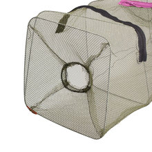 Nylon Mesh Fishing Nets Fishnet Bait Trap Cast Dip Net Cage Crab Fish Crawd Shrimp Crayfish Crabs Minnow Fishing Net Tool Pesca