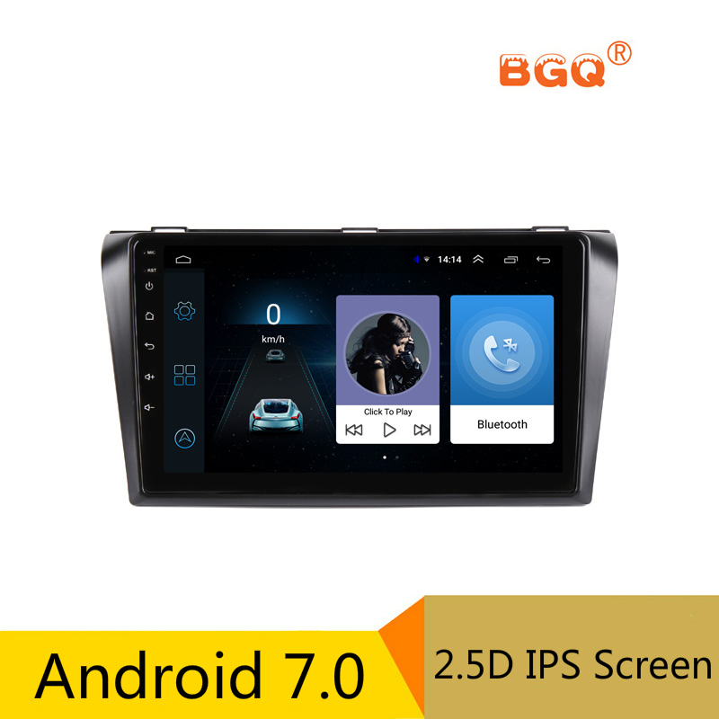 9 inch Android Car DVD Player font b GPS b font for Mazda 3 Mazda3 2004
