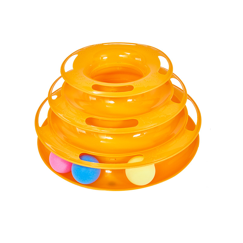 Cat Toys Petstages Tower of Tracks Enhancing Cat Intelligence Cat Teaser Kitty Toys and Best Cat Toys Pet Supplier
