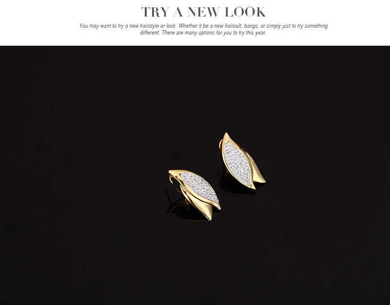 4 unids/set Color oro flor Dubai conjunto de joyas de cristal africano nigeriano nupcial conjunto de joyas para mujeres diamantes de imitación joyería etíope