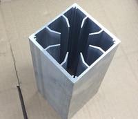 Fast Free Ship 8CM fan mating wind tunnel radiator 82.5X82.5X200mm Heatsink