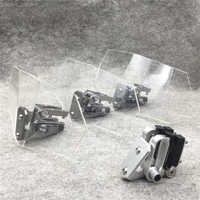 Pare-brise universel réglable de déflecteur de vent de pare-brise de moto pour Kawasaki BMW Ducati honda Benelli KTM Triumph