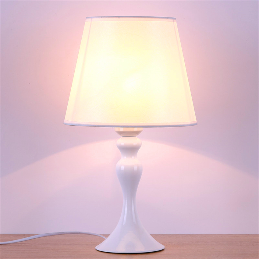 Nordic Fabric Shade LED Table Lamp E27 Lamp Holder 110-240V Modern Cloth Art Wood Desk Table Lamp Parlor Indoor Study DecorationNordic Fabric Shade LED Table Lamp E27 Lamp Holder 110-240V Modern Cloth Art Wood Desk Table Lamp Parlor Indoor Study Decoration