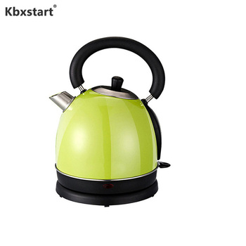 1.8L Electric Kettle Household Stainless Steel Auto Power-off Protection Wired Handheld Instant Heating Electric Water Kettle