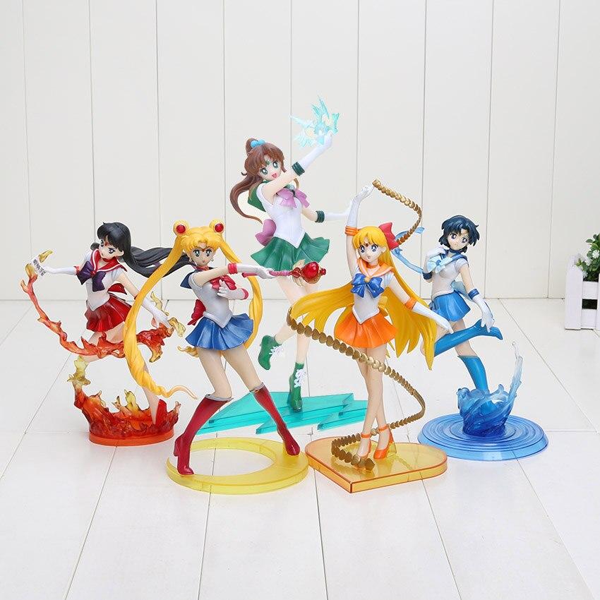 17cm 20cm Figuarts Zero Sailor Moon Figure Mars Venus
