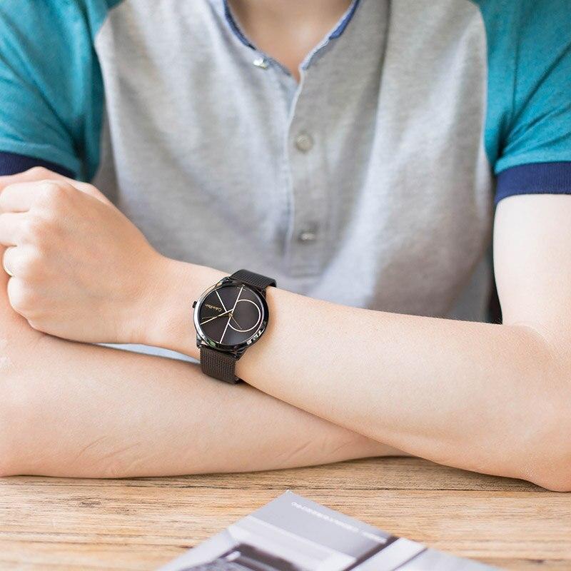 Parnis 39 мм черный циферблат кварцевые мужские часы водонепроницаемый сапфировый Кристалл хронограф светящийся мужские часы zegarek meski мужские ... - 3