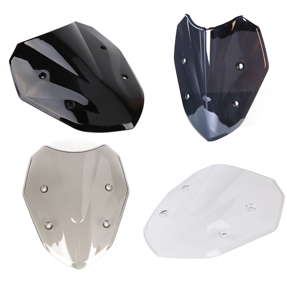 For BMW S1000XR 2017 Motorcycle Windshield Windscreen High Quality ABS Black White Windscreen Motorcycle S1000XR 2017 Motorbike for bmw g310r 2017 on motorcycle windshield windscreen with mounting bracket high quality abs plastic