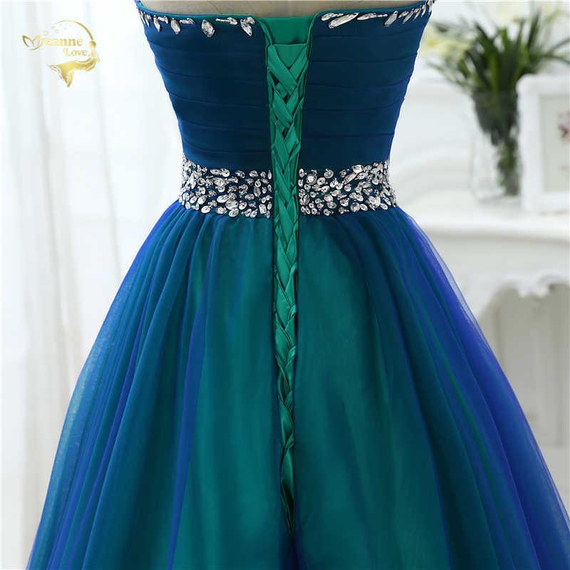 f2a149abb18 ... Новый дизайн линии пикантные Модные Длинные платье для выпускного  вечера es 2019 милая мягкая тюль Vestidos