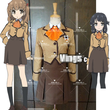 Anime! Nagi no Asukara Shiodome Miuna Hisanuma Sayu Lovely Uniform Suit Cosplay