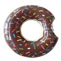 לצוף בריכת שחייה מתנפח ענק טבעת סופגנייה שחייה מעגל צעצועי חוף ים סגנון אקראי מזרן מתנפח לילדים למבוגרים בלבד