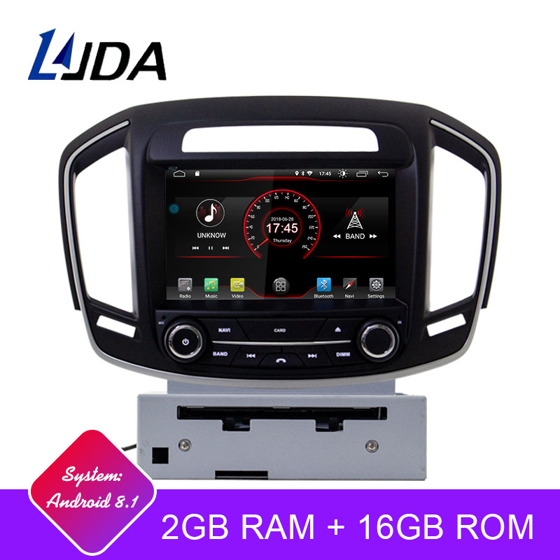 LJDA Android 8 1 Car DVD Player For Opel Vauxhall Holden Insignia 2014 2017 GPS Navi
