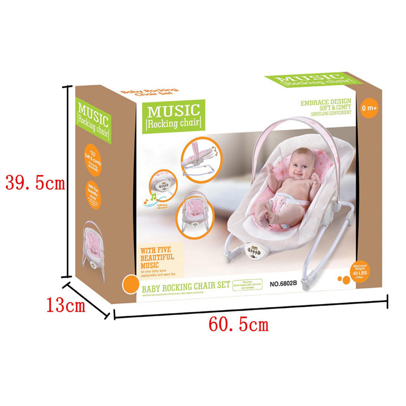 Gift Baby Electric Rocking Chair Bouncers New Kids Leisure Chair Baby Automatic Shakes With Music Appease Rocking Recliner09