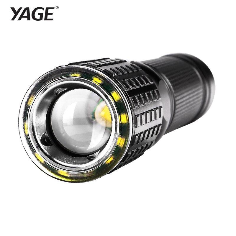 YAGE Taschenlampe Wiederaufladbare Cree XML-T6 Lanterna Tactical taschenlampen USB Led-taschenlampe 18650 Lampe Touche Linternas Led-lampe