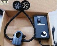 Metal Hose LED Light Bendable Microscope Illumination 32mm Column Multi angle Illumination Multi angle Illumination Instrument