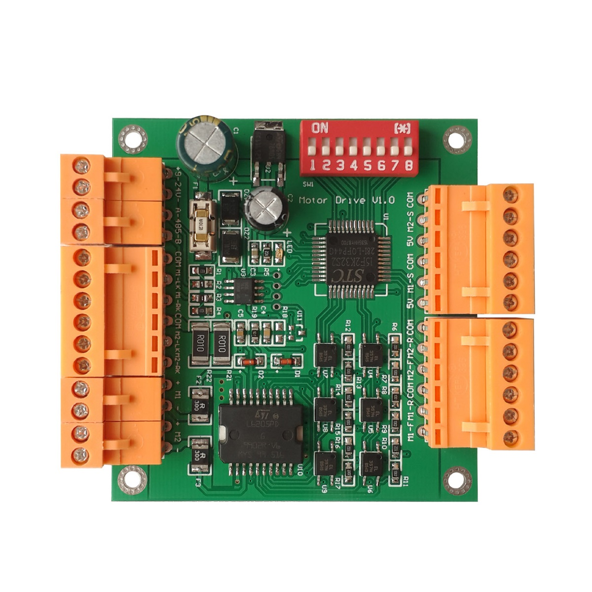 12v 4 Channel Audio Decoding Relay Dtmf Intelligent Home Switch This Decoder Uses A G8870 Receiver Chip To Decode Rs485 Pelco Protocol Control Dc Motor Controller Module