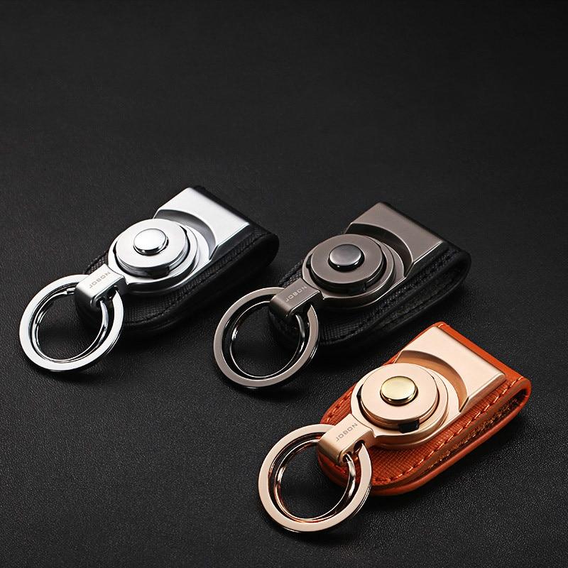Metal Waist Hanging Belt Key Ring Pendant Keychain Ring Car
