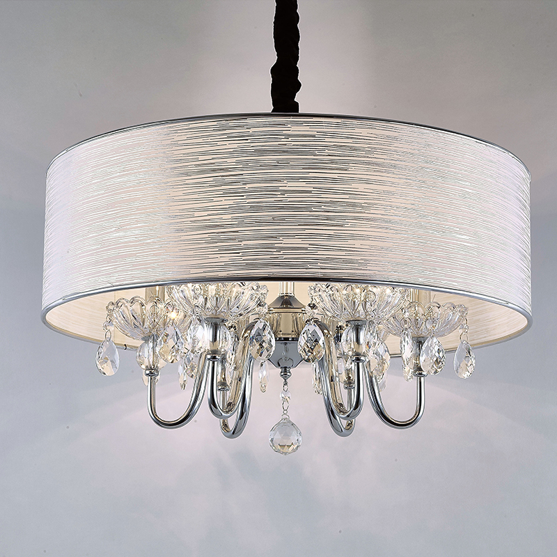 Crystal creative hall dining room bedroom pendant lamp K9 crystal round cloth art study hanging lamps pendant light ZH FG433 european style living pendant lamps room bedroom dining room entrance hall marble lamp full copper pendant light zh