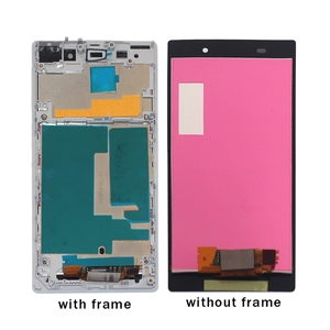 Image 4 - For Sony Xperia Z1 L39H LCD Display Digitizer Glass Panel Assembly For Sony Xperia Z1 L39H C6902 C6903 C6906 Display Screen tool