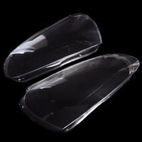 1 Pair Car Styling Headlight Clear Lens Cover Front Left Right Headlamp Shell For VW Volkswagen
