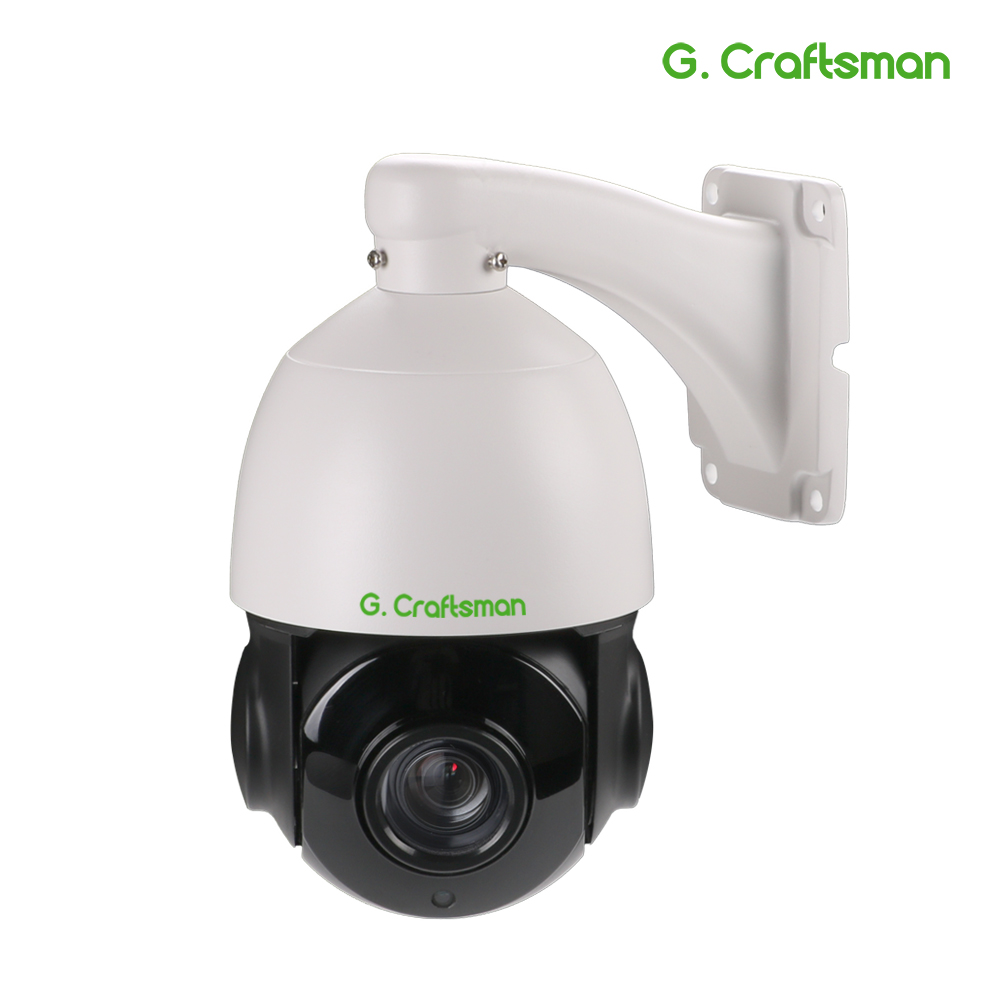 5.0MP POE 30X PTZ Dome IP Camera Outdoor HI3516D+AR0521 5.35-96.3mm Optical Zoom IR 60M CCTV Security Waterproof G.Craftsman image