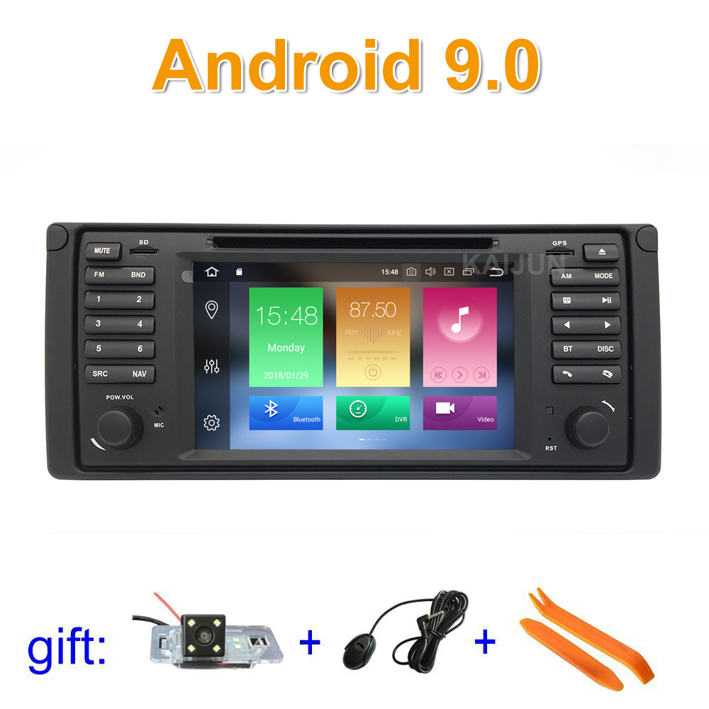 IPS screen Octa core Android 9 Car DVD Player for BMW E39 with WiFi BT Radio