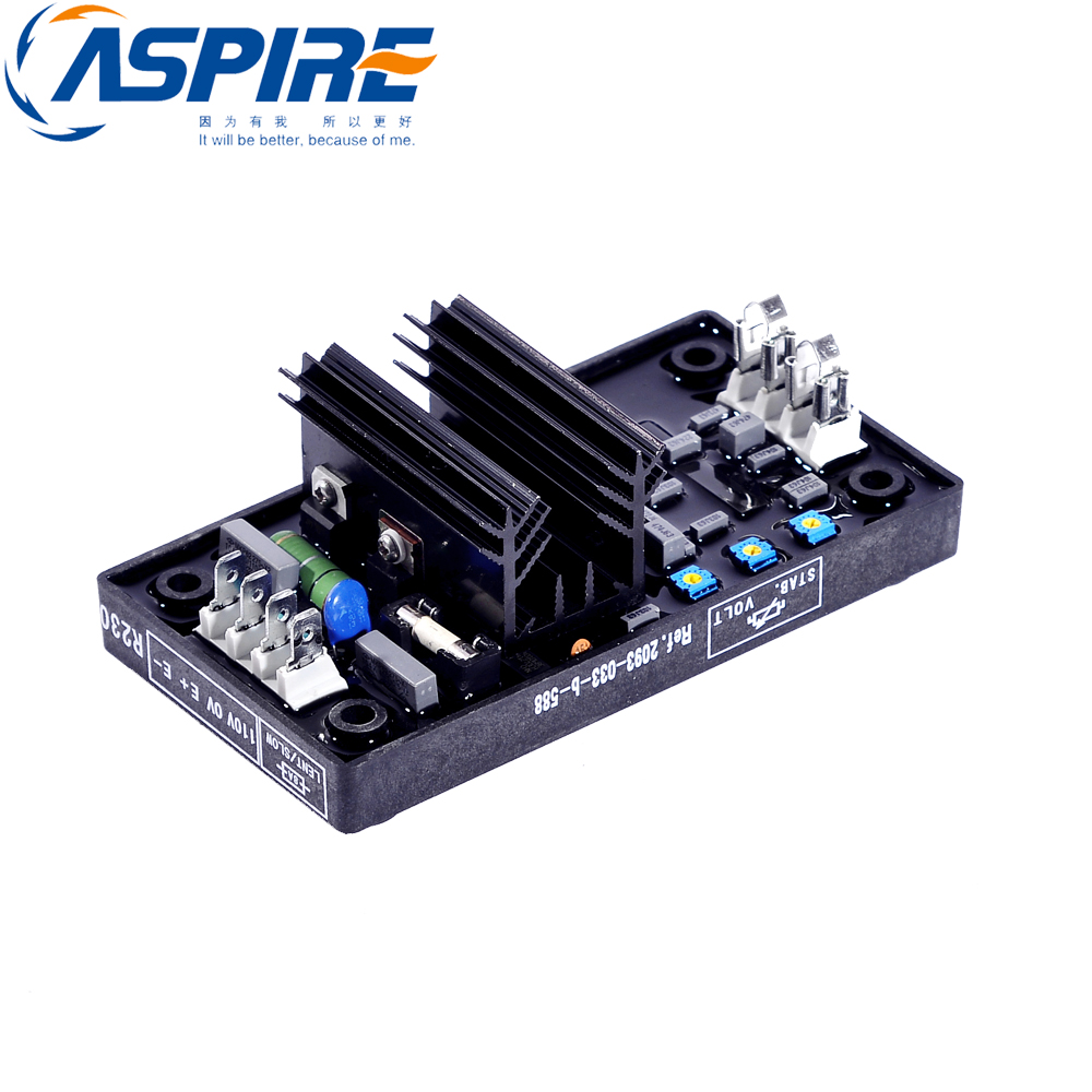 Aspire avr R230 brushless type generator avr automatic voltage regulator generator avr r230