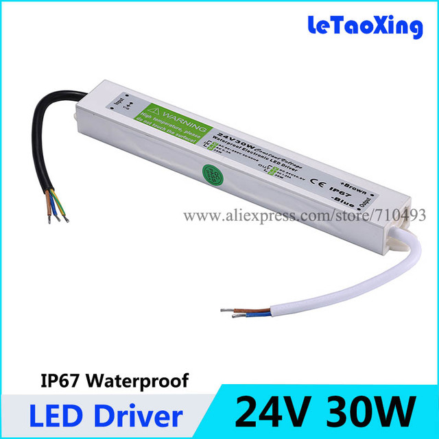 24v 30w led driver power supply waterproof outdoor 24v 24v 30w led driver power supply waterproof outdoor 24v transformers adapter for led strip light lamp mozeypictures Images