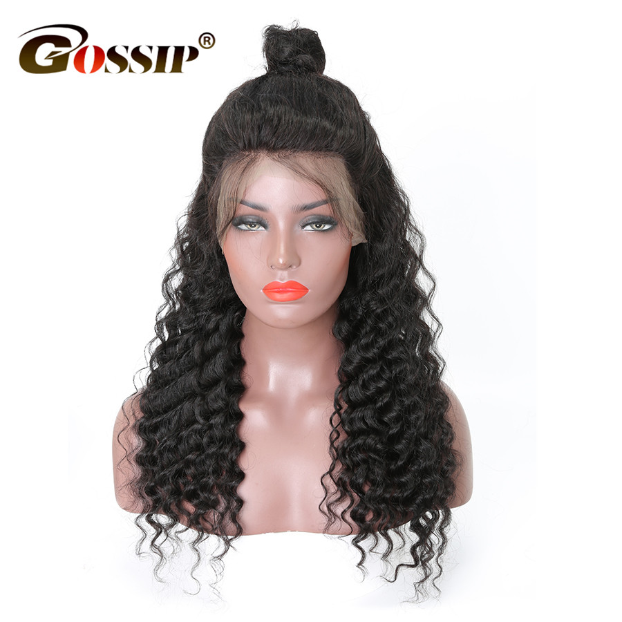 Aliexpress Com Buy Lace Front Human Hair Wigs Deep Wave