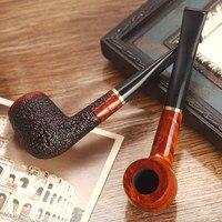 Handmade Black Briar Smoking Pipe Smoking Pipe Smoking Gift