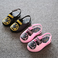 Mini sed Jelly Sandals For Baby Girls&Boys Children Summer Cute Smile Cartoon Beach Shoes 2016 Infant Sandals