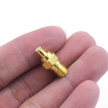 1/2/4PCS SMA Female to MCX Male Adapter Wifi Antenna Cable Brass WLAN Connectors for RF Projects Mobile Radio Video(China)