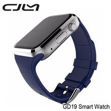 GD19 Cjlm Nuevo Bluetooth SmartWatch Android Conectado Reloj de Pulsera Para Teléfonos Android Smartwatch Con Tarjeta SIM Cámara VS GT08