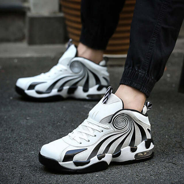 9f088928fdd 2018 Hot Sale Basket Shoes for Men fitness Basketball Sneakers Male High  Top Gym sport Trainers