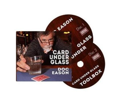2015 Card Under Glass By Doc Eason -Magic Tricks