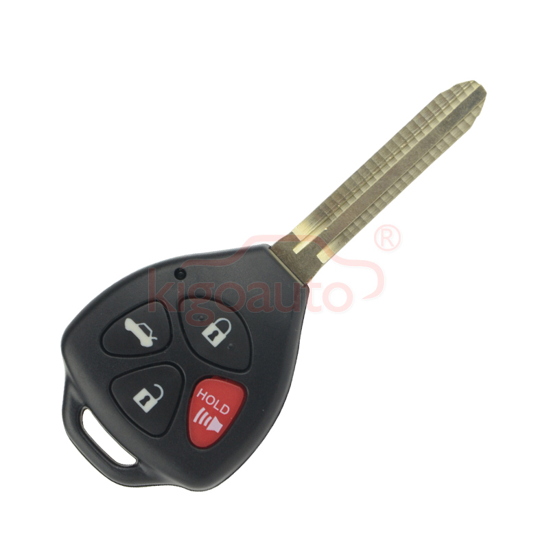 Remote key 4 button with G chip toy43 315Mhz GQ4-29T for 2008 2009 2010 Toyota Corolla Camry kigoauto title=