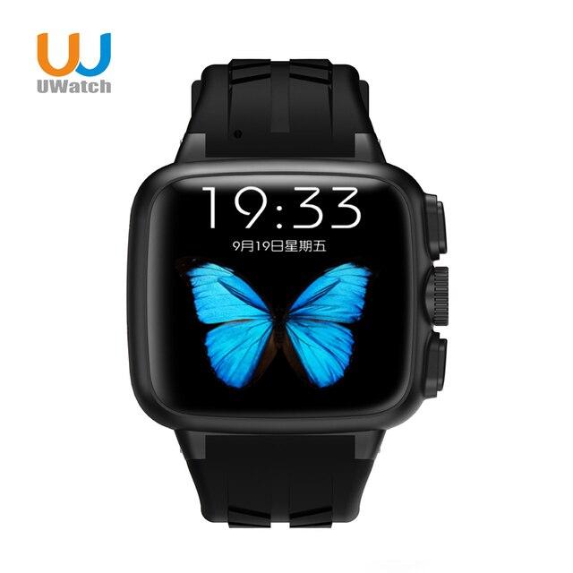UWatch Спорта GPS Smart Watch Android 4.4 OS 1.51 дюймов экран 3.0MP Камера Audlt часы Шагомер для Apple Moto Huawei UC08