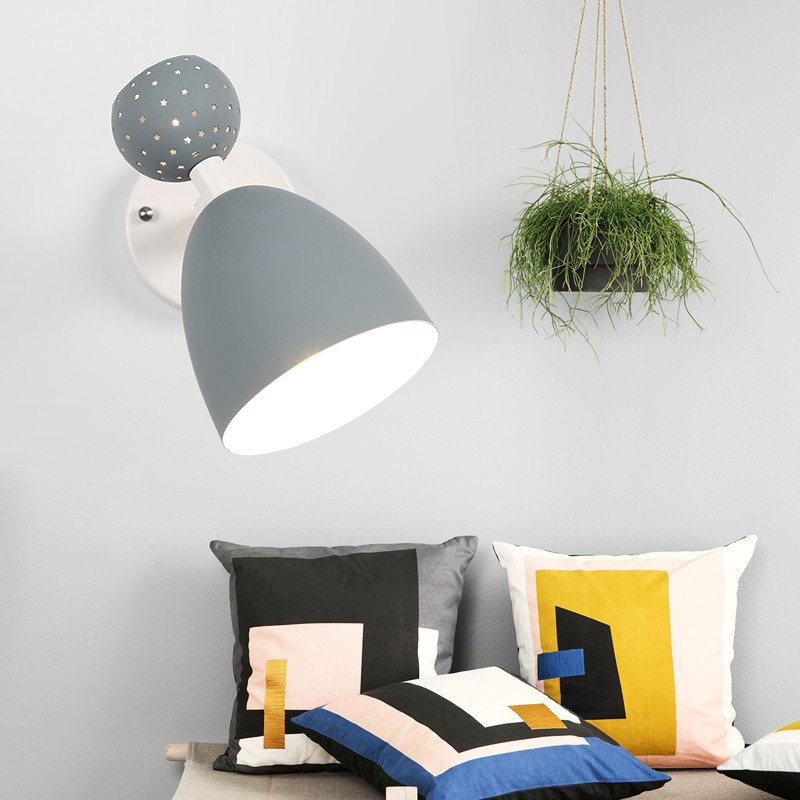 Nordic Led Indoor Colorful Wall Lamps Modern Macarons Vanity Stair Living Room Wood Lighting Home Deco Sconce Lights LuminaireNordic Led Indoor Colorful Wall Lamps Modern Macarons Vanity Stair Living Room Wood Lighting Home Deco Sconce Lights Luminaire