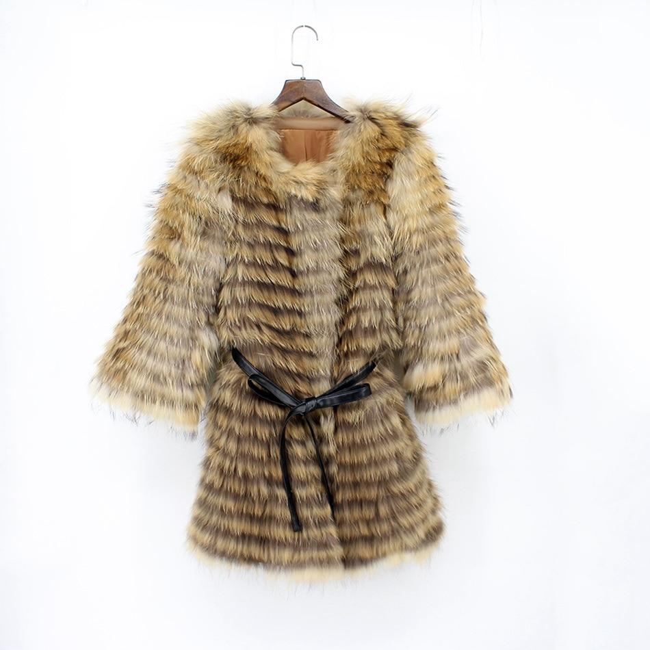 genuine raccoon fur coat (4)