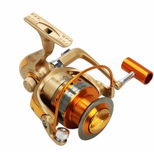 NEW HOT SALES 2017 HF500-9000 ICE FLY CARP spinning fishing reel 12 HPCR Ball Bearings  Carbon lightweight  ALLOY DISTANT WHEEL