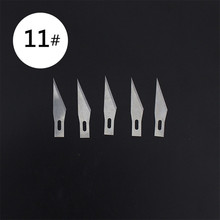 5pcs Blades for Wood Carving Tools Engraving Craft Sculpture Knife Scalpel Cutting Tool PCB Repair