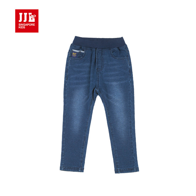 dark blue boys jeans soft kids denim jeans elastic kids clothing boys pants 2016 pants slim children jeans lightweight