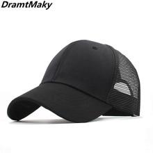 11 colors Baseball Caps Men Women's cap male Snapback Hip Hop Hat dad hat Summer Breathable Mesh Gorras Unisex Streetwear Bone
