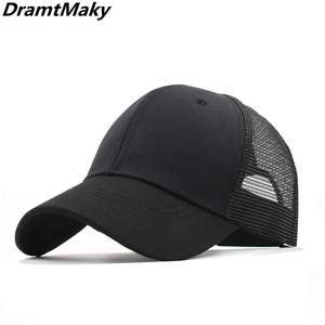 11 colors Baseball Caps Men Women's cap male Snapback Hip Hop Hat dad hat Summer Breathable Mesh Gorras Unisex Streetwear Bone(China)