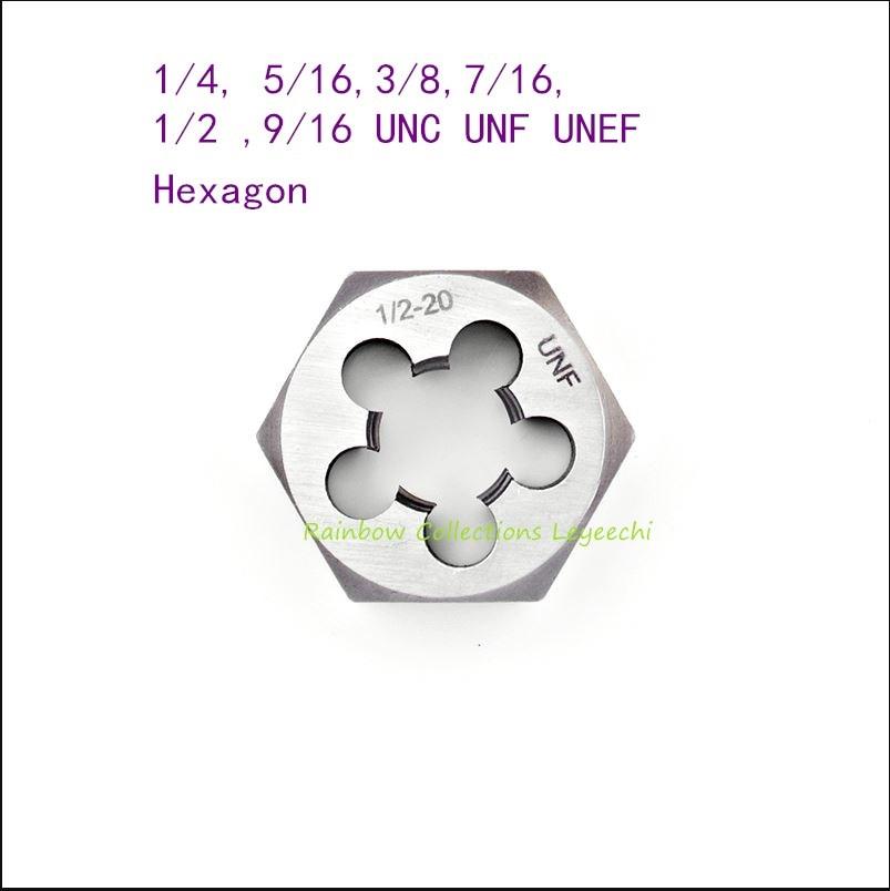 3//8-27 UNS Left Hand Die Nut HSS UK Manufactured